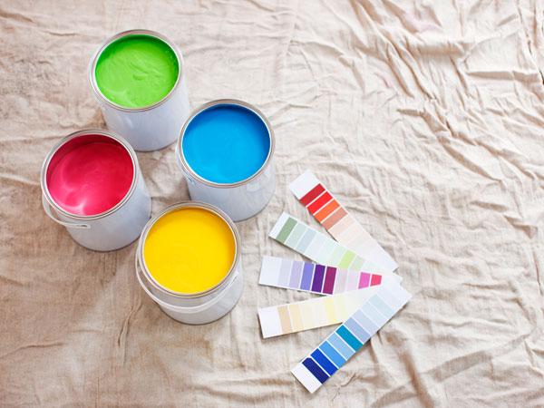 Боя за стена - цветове