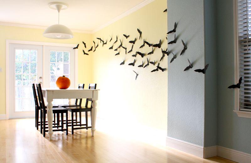 Стена с цветен латекс