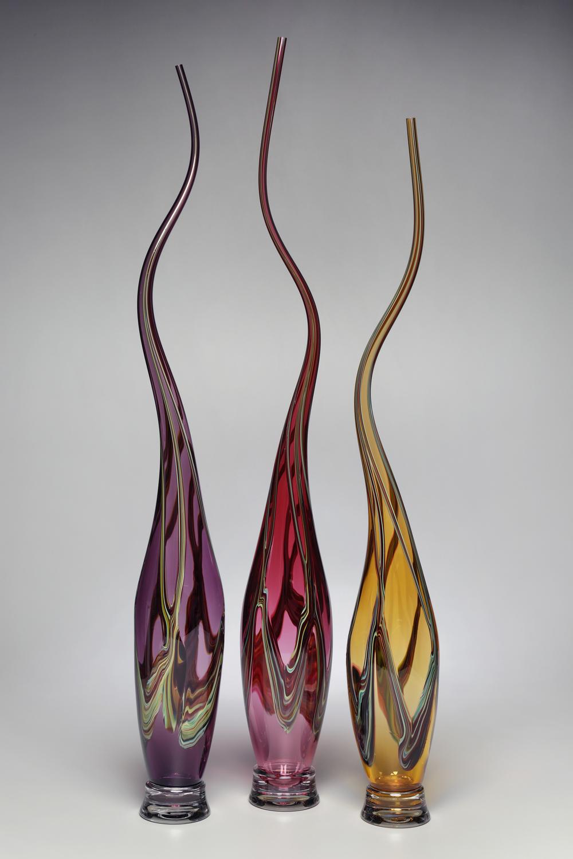 Цветен латекс и стъкло