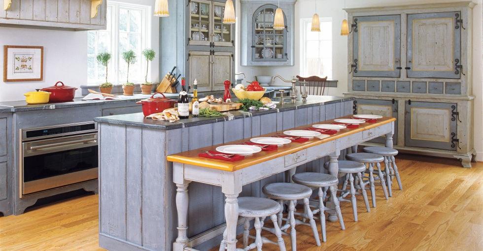 Интериорните бои в кухнята