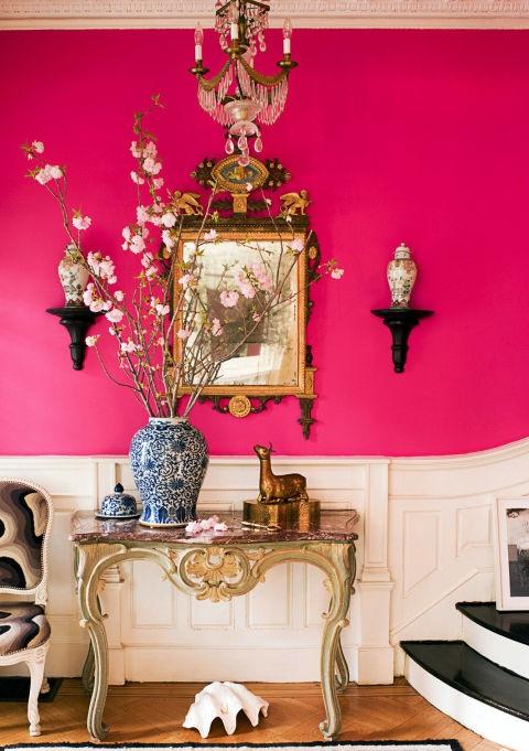 Розов цветен латекс