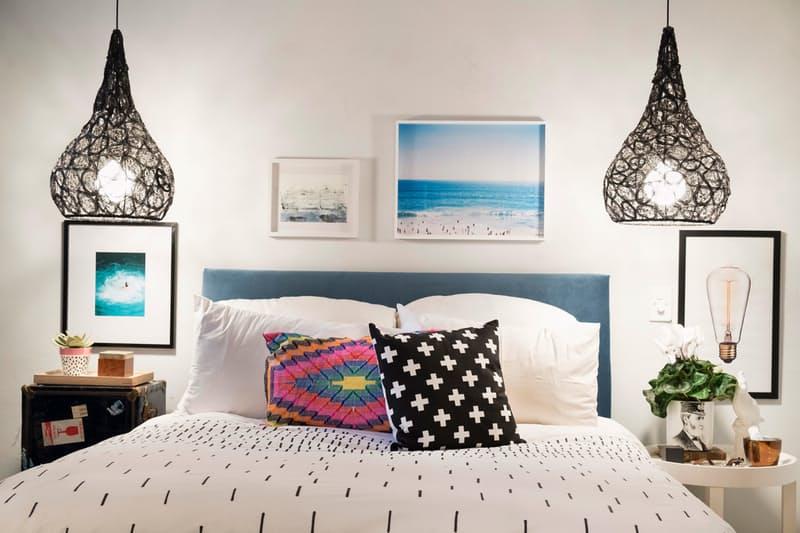 Интериорните бои в спалнята