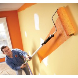 Как да се справим с боята за стена?