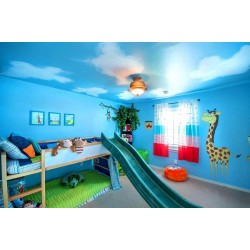 Стените на детската стая – кои цветове да използваме?