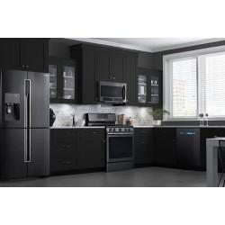 Кухнята в бяло и черно