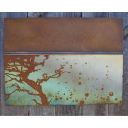Патиниране на метал и дърво