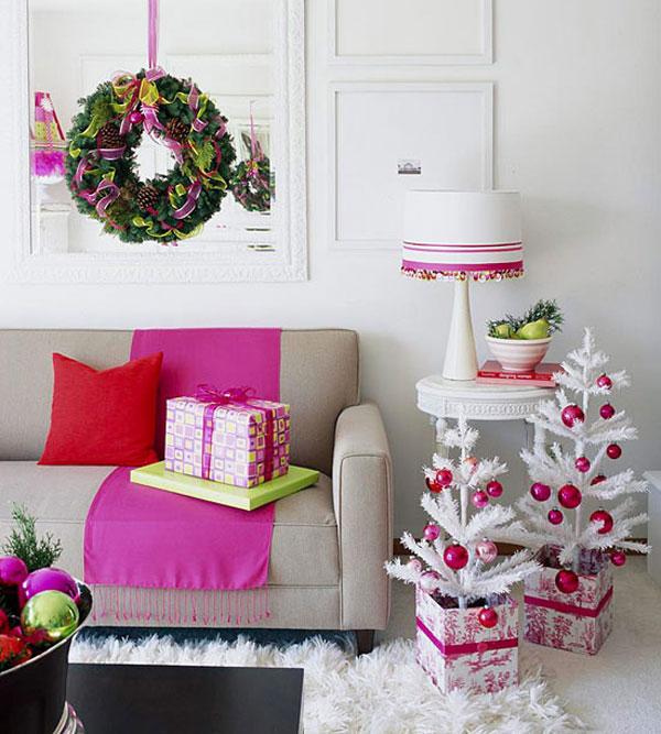 Розови интериорни бои