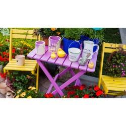 Лакиране и освежаване на градински мебели