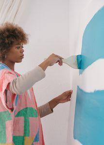 Пълна промяна на интериора с декоративни бои за стени