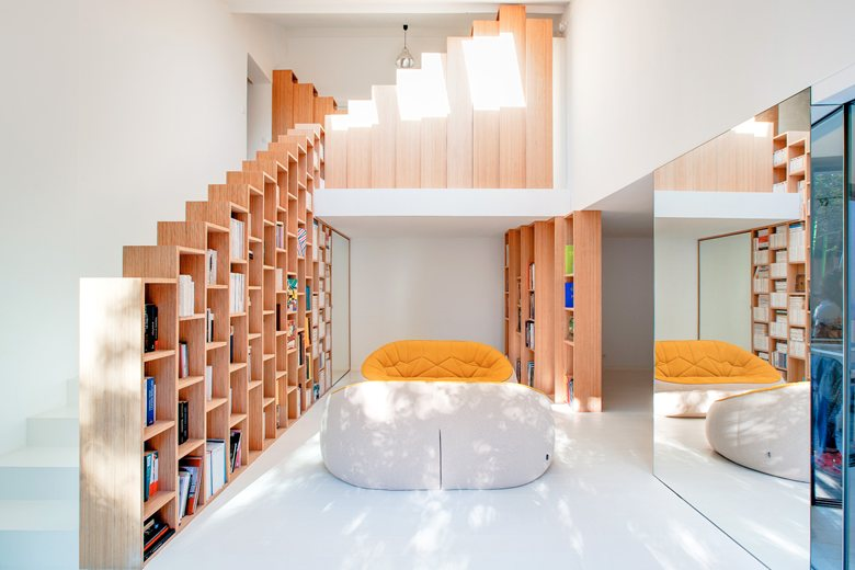 Книгите и интериорът