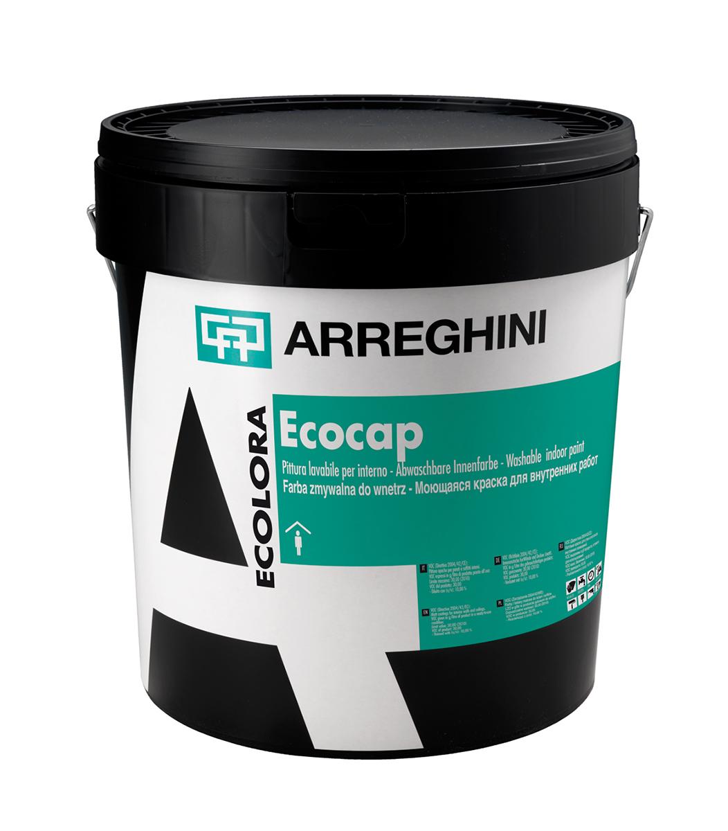 ECOCAP - интериорна дишаща и миеща боя