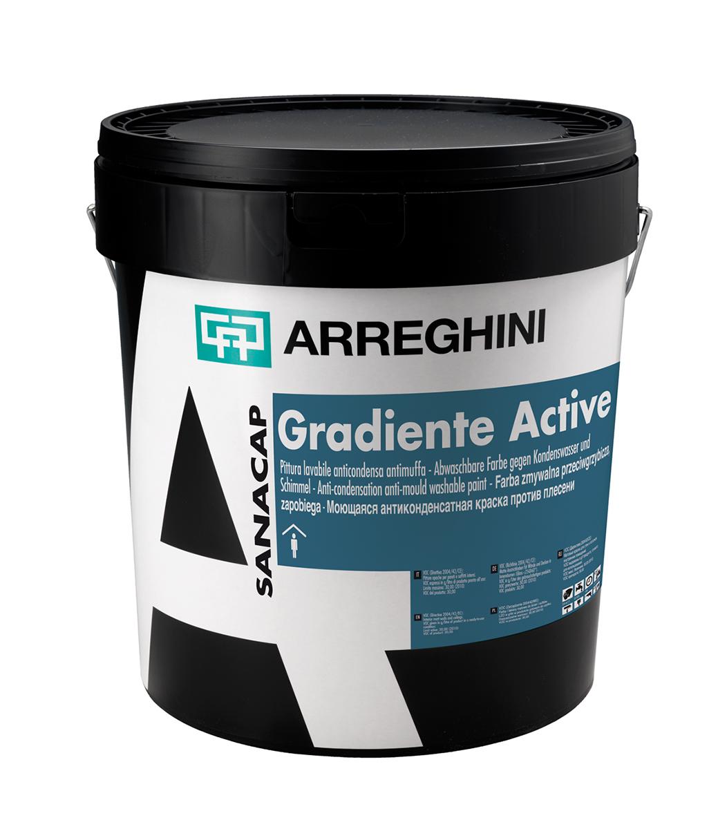 GRADIENTE ACTIVE - антимухълна и антикондензна боя