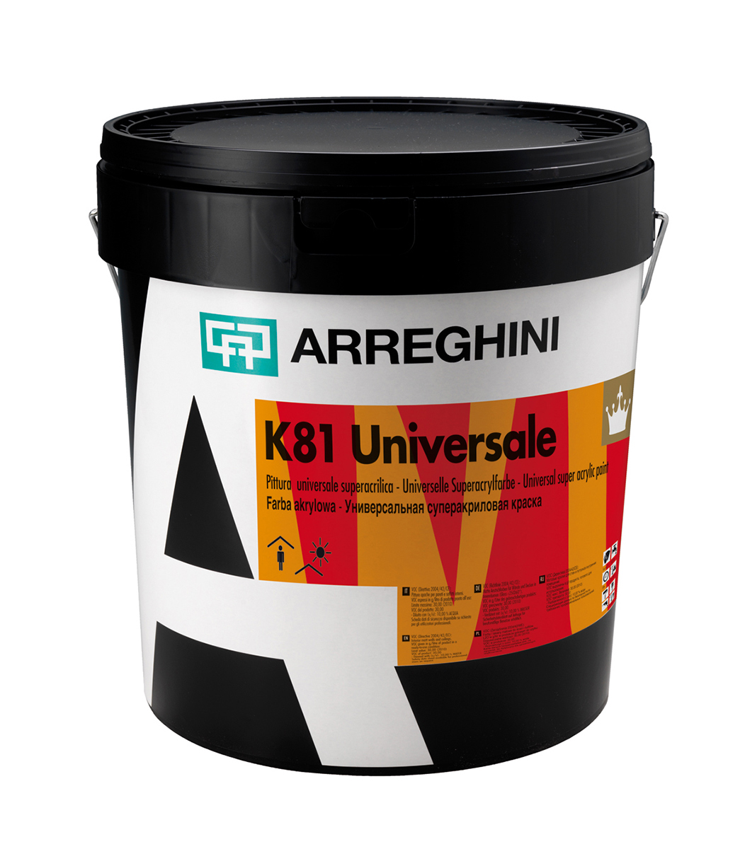 K81 UNIVERSALE - акрилна боя, мат