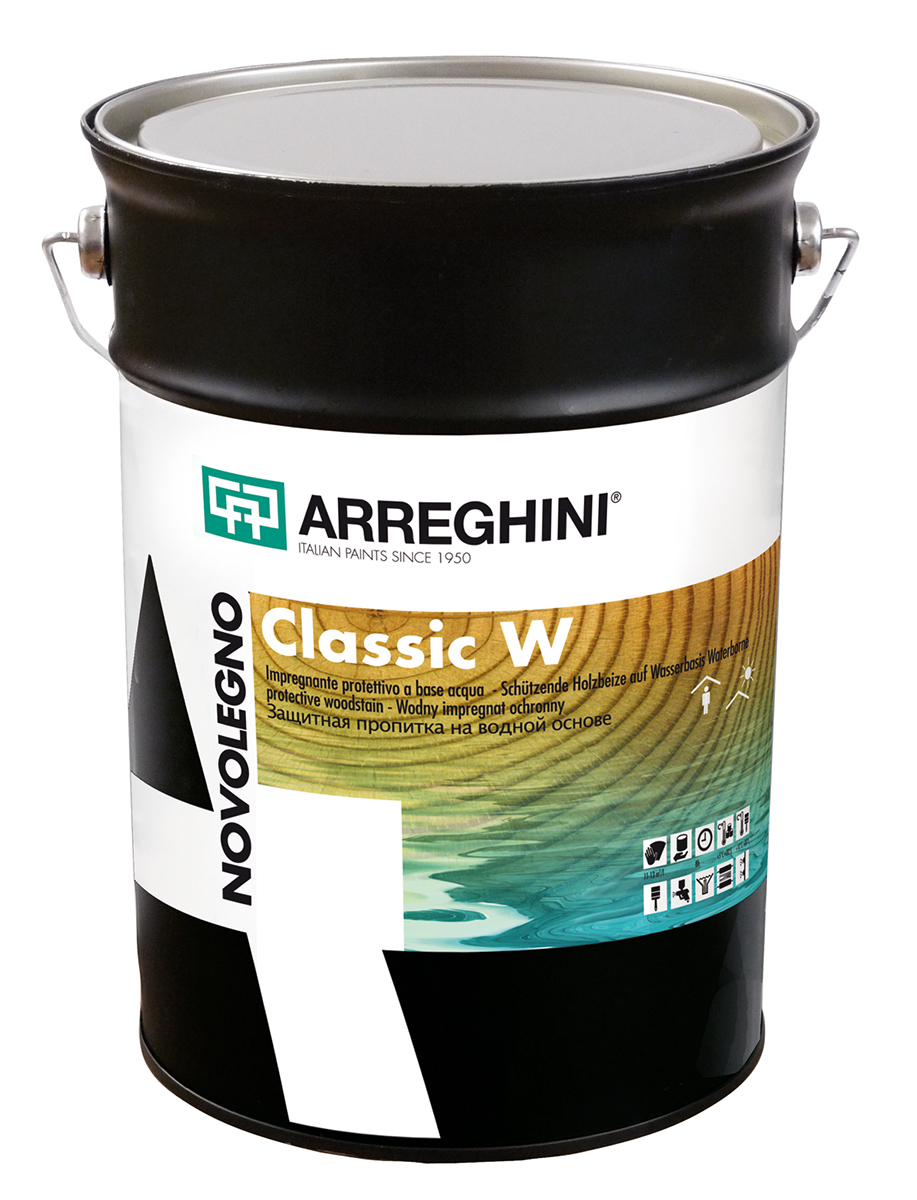 NOVOLEGNO CLASSIC W - импрегнант за дърво на водна основа