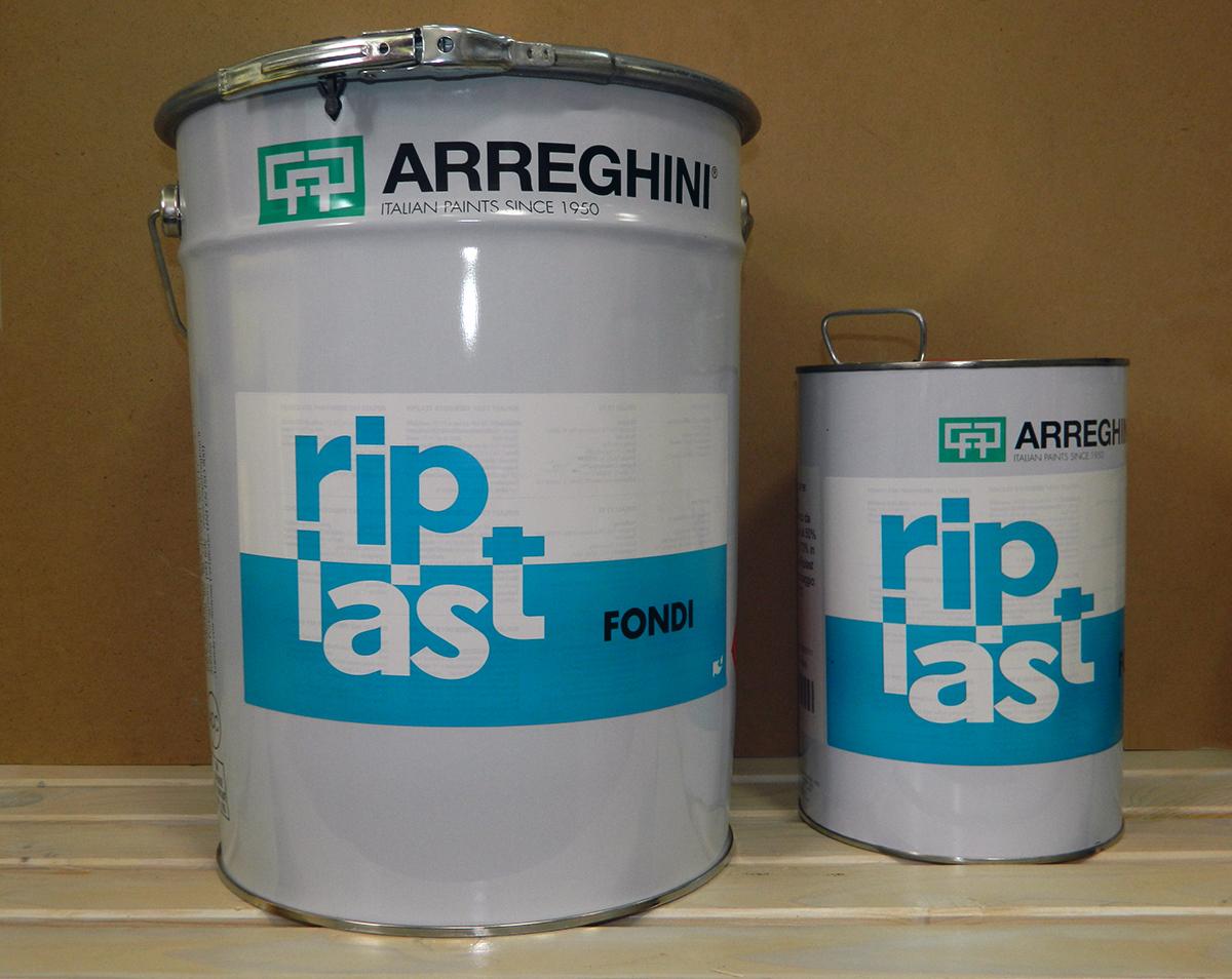 RIPLAST R8 R9 - полиуретанова боя, сатен