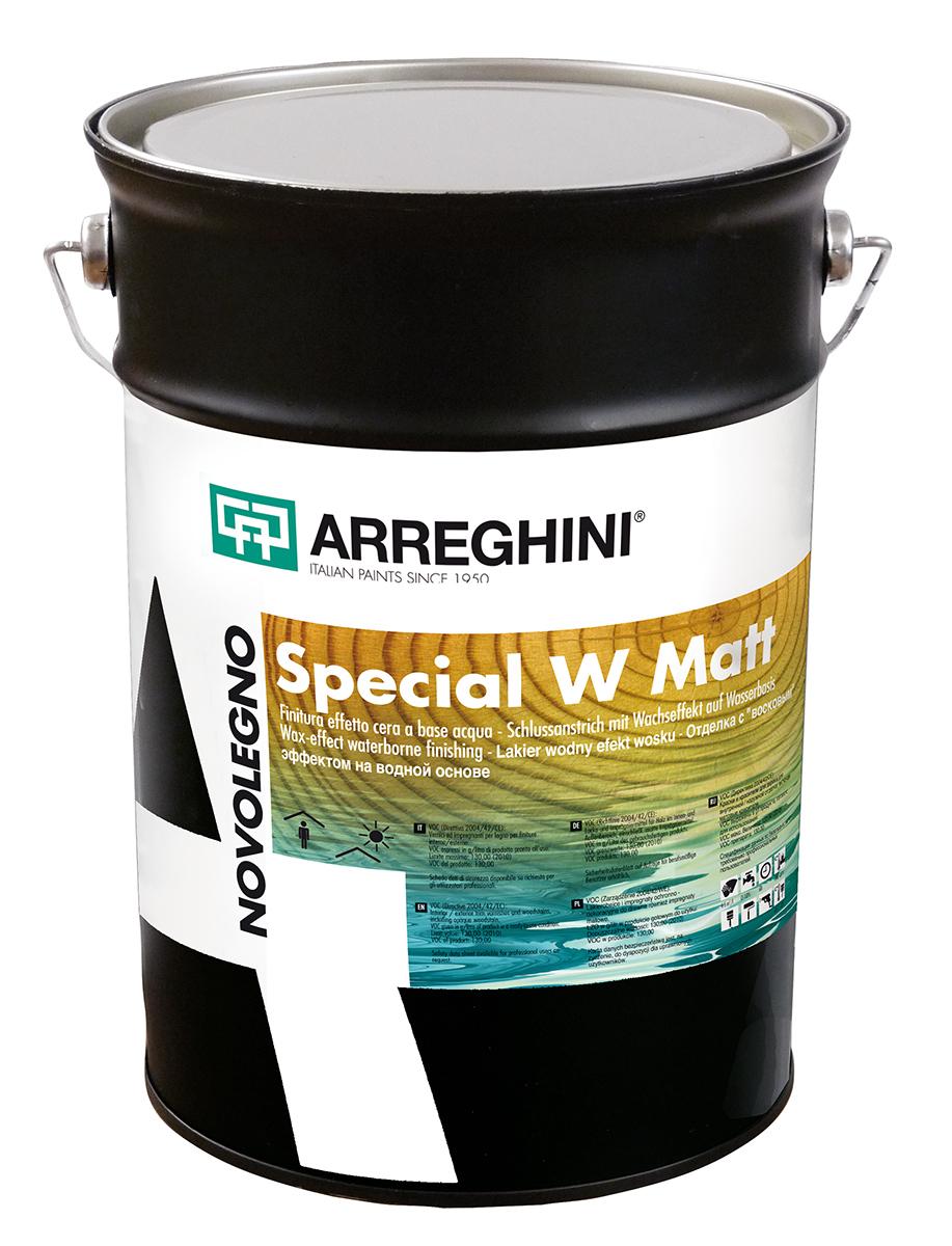 SPECIAL W MATT - лак за дърво на водна основа